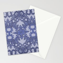 Lavender Gothic Lace Stationery Cards
