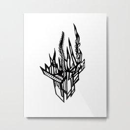 Topology  Metal Print