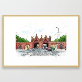 Brandenburg Gate Framed Art Print