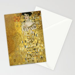 Gustav Klimt - Portrait of Adèle Bloch Bauer Stationery Cards