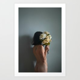 thanks softly to yourself Art Print