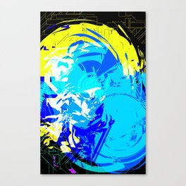 DON'T-ASK-ME--HAHA 3 Canvas Print