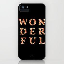 wonderful - wunderbar - west - Living Hell iPhone Case