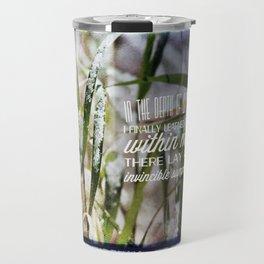 Invincible Summer. Travel Mug