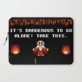 It's Dangerous to go alone! Laptop Sleeve