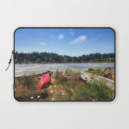 Red Kayak Laptop Sleeve