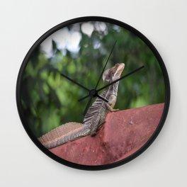 Jesus Christ Lizzard Wall Clock
