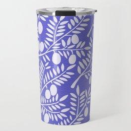 Olive Branches – Periwinkle Travel Mug