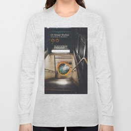 New York City Subway Portal to the Forest Long Sleeve T-shirt