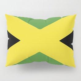 Jamaica flag emblem Pillow Sham