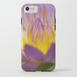 Macro photograph of a water-lily II iPhone Case