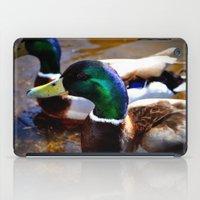 ducks iPad Cases featuring ducks by  Agostino Lo Coco
