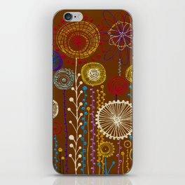 In the world of flowers iPhone Skin