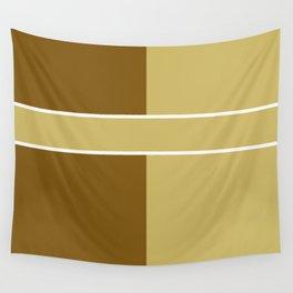 Team Colors 6....gold,brown Wall Tapestry