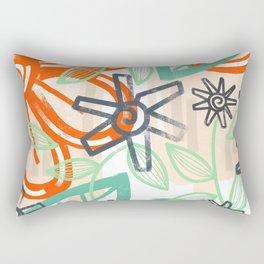 abstract summer Rectangular Pillow