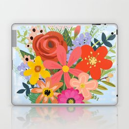 Wildflower Bouquet Laptop & iPad Skin