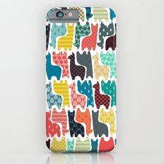 baby llamas iPhone 6 Slim Case