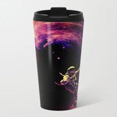 Space Surfing Metal Travel Mug