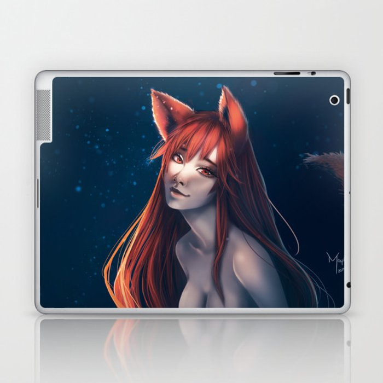 Happy Fox Laptop & iPad Skin
