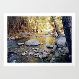 Azusa Canyon Art Print