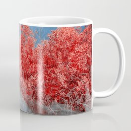 Pier Thru Woods Coffee Mug