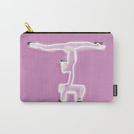 Neon Gymnast Carry-All Pouch