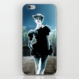 Kitten Jeanne iPhone Skin