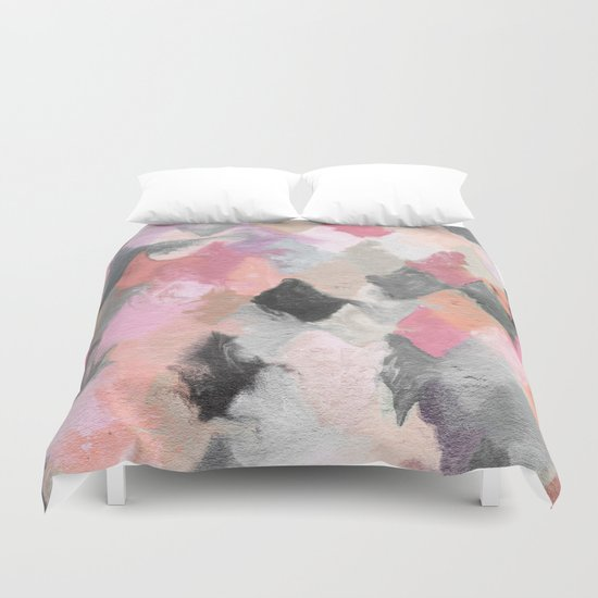 Summer Pastels Duvet Cover