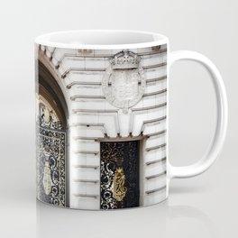 Black and Gold Coffee Mug