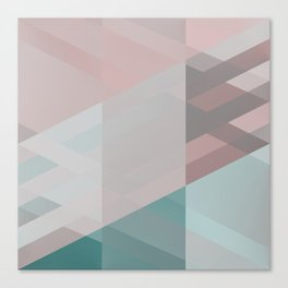 The clearest line X Canvas Print