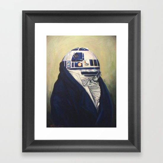 R2-Duke2 Framed Art Print