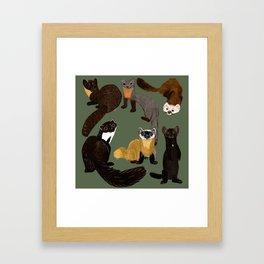 Martens of the World #1 Framed Art Print
