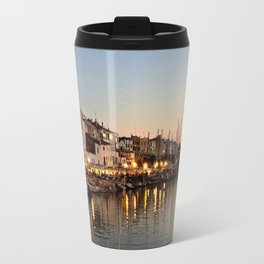 Sunset on Ciutadella Harbor 2 Travel Mug