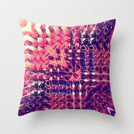 07-27-13 (Chandelier Glitch) Throw Pillow