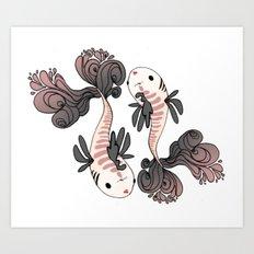 Pesci Art Print