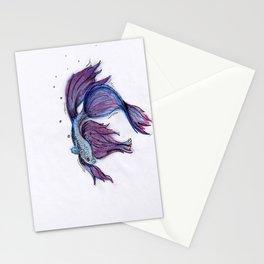Beta Fish Stationery Cards