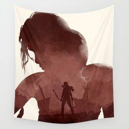 Tomb Raider (II) Wall Tapestry