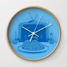 Brain eater Wall Clock
