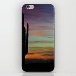 The Desert Southwest Skies iPhone Skin