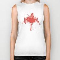dota Biker Tanks featuring First Blood! Bloodseeker by DotaZone Store