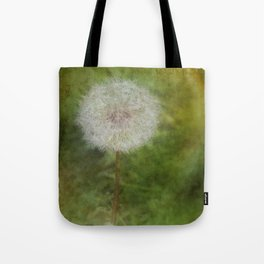 Dandelion Fuzz Tote Bag