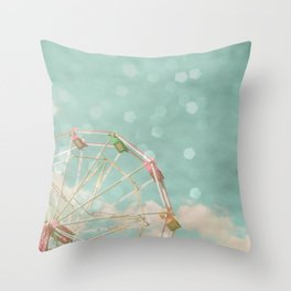 Candy Wheel Throw Pillow