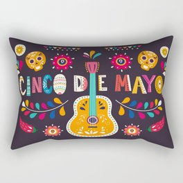 Cinco de Mayo – Guitar Rectangular Pillow