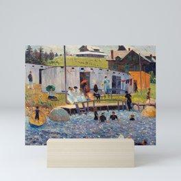 Pierre-Auguste Renoir - The Bathing Hour, Chester, Nova Scotia Mini Art Print