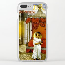 Images and Words Clear iPhone Case