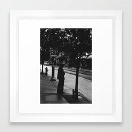 Jaywalker Framed Art Print