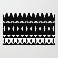 aztec Area & Throw Rugs featuring Aztec by Ornaart