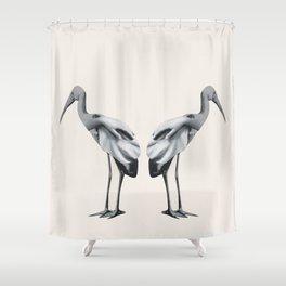 Handbirds Shower Curtain