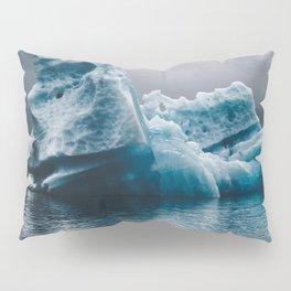 iceberg in iceland Pillow Sham