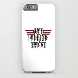 Van Effing Halen iPhone Case
